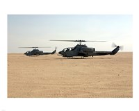 AH-1W Super Cobras Fine Art Print