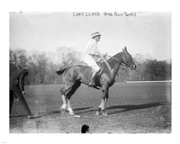 Capt. Lloyd  Eng. Polo Team Fine Art Print