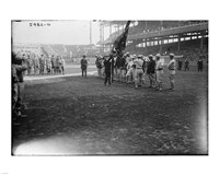 New York Giants Polo Grounds opening day 1923 Framed Print