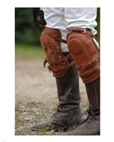 Polo Kneepads Fine Art Print