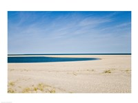 USA, Massachusetts, Cape Cod, panoramic view of beach Framed Print