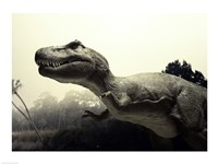 Close-up of a Tyrannosaurus Rex Fine Art Print