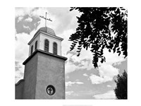 Church of Los Cerrillos Fine Art Print