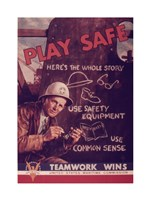 Play Safe Fine Art Print