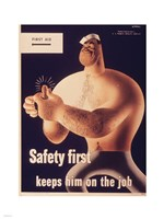 Safety First Fine Art Print