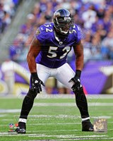 Ray Lewis 2011 Action Fine Art Print