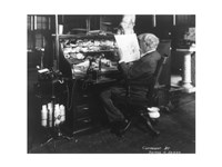 Thomas Alva Edison, 1847-1931 Framed Print