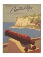 Discover Puerto Rico U.S.A. Fine Art Print
