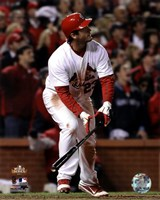 David Freese Game Winning Walk-Off Home Run Game 6 of the 2011 MLB World Series Action (#28) Fine Art Print