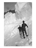 Climbing Mt Mckinley Framed Print
