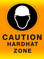 Safety Hard Hat Framed Print