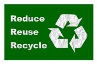 Reduce, Reuse, Recycle Fine Art Print