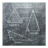 Triangles Fine Art Print