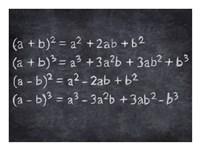 Algebra Framed Print