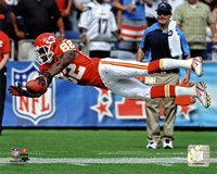 Dwayne Bowe 2011 Action Fine Art Print