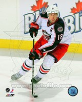 R.J. Umberger 2011-12 Action Fine Art Print