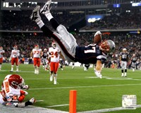 Rob Gronkowski 2011 Action Fine Art Print