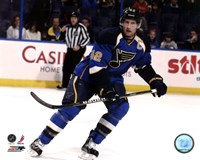 David Backes 2011-12 Action Fine Art Print