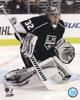 Jonathan Quick 2011-12 Action Framed Print