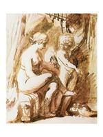 Adam Elsheimer Aphrodite Fine Art Print