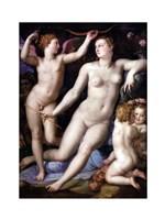 Angelo Bronzino - Venus, Cupid and Envy Fine Art Print
