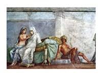 Aphrodite, Braut and Dionysos Fine Art Print