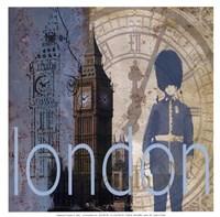 London - Mini Framed Print