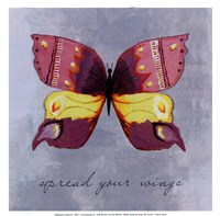 Spread your wings -mini Framed Print