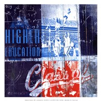 Higher Education - mini Fine Art Print
