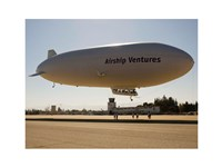 The Airship Ventures' Zeppelin Fine Art Print