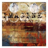 Imagine - mini Framed Print