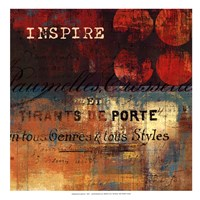 Inspire - mini Framed Print