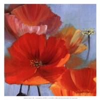 Movement in Bloom II - mini Fine Art Print