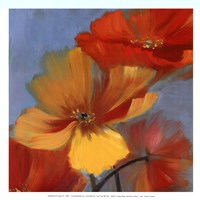 Movement in Bloom I - mini Fine Art Print