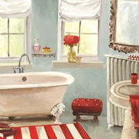 Tranquil Bath II - mini Fine Art Print