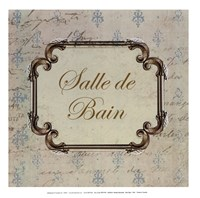 Bain Sign I - mini Fine Art Print