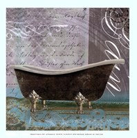 Medallion Bath II - mini Fine Art Print