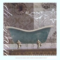 Medallion Bath I - mini Fine Art Print