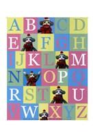 Alphabet Theory - mini Fine Art Print