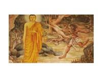 Angulimala Buddha Fine Art Print