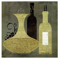Wine to Live by I - special Fine Art Print
