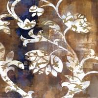 Moonlight Magnolia Silhouette II Framed Print