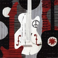 Rock n' Roll Guitars Fine Art Print