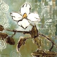 White Trellis II Fine Art Print