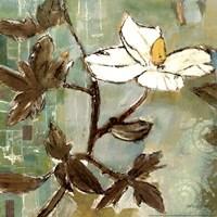 White Trellis I Fine Art Print