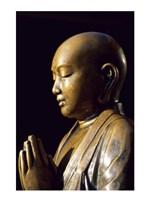 Close-up of a Buddha Statue, Asakusa Kannon Temple, Tokyo, Japan Fine Art Print