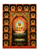 Buddha Tooth Relic Temple and Museum, Chinatown, Singapore Fine Art Print
