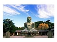 Buddha, Daibutsu, Kamakura, Tokyo, Japan Fine Art Print