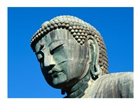 Close-up of a statue, Daibutsu Great Buddha, Kamakura, Japan Framed Print