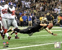Drew Brees 2011 Action Fine Art Print